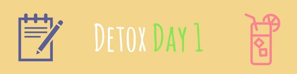 Detox Day 1 fitkabdao